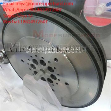 Peripheral diamond grinding wheel for indexable inserts miya@moresuperhard.com