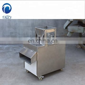 Adjustable Thickness Stainless Steel Peanut Cutter Cashew Nut Slice Cutting Almond Slicer Machine