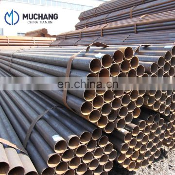 astm a53b erw steel pipe for fluid pipe large diameter welding carbon steel pipe