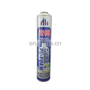 Good quality  brand the empty of PU polyurethane foam for sealing made in china