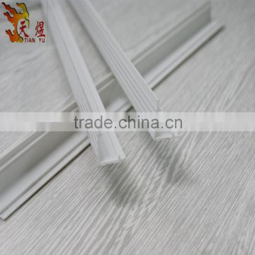 hot sell cover corner wihte L shape plastic profile rubber product for construction shelf