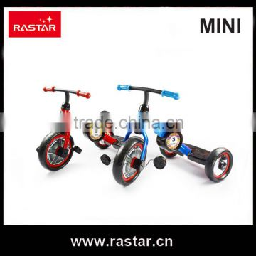 Rastar shopping kid toy BMW MINI licensed 3 wheel child mini bike