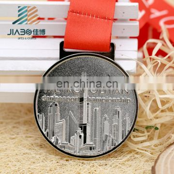 factory direct sell custom make metal award santa medal