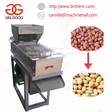 Electric and Low Energy Consumption Peanut Dry Type Peeling Machine