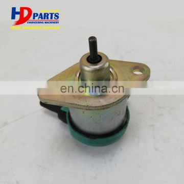 Excavator D1105 Diesel Stop Solenoid For Engine Parts