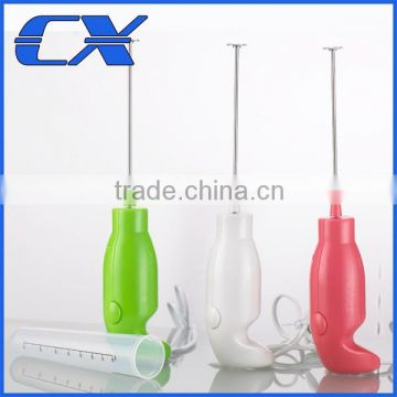 Water & Wood Milk Drink Coffee Shake Frother Whisk Mixer Electric Egg Beater Foamer Kitchen