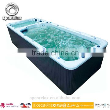 2015 Hot Sale Balboa Acrylic plastic swimming pools with dual parts