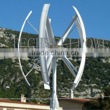 TECHMLV3KW/5KW MAGLEV vertical axis wind turbine of New