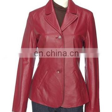 Ladies' Leather Coats ( L J - 002 )