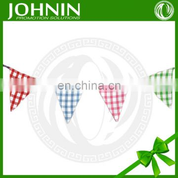 DIY decoration advertising pennant custom bunting for party wedding