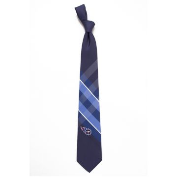Double-brushed Gold Polyester Woven Necktie Printed Solid Colors