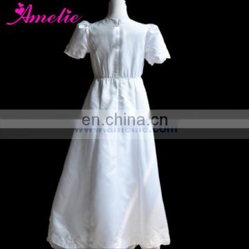 Embroidery Flower Patterns Beautiful First Holy Communion Girl Dress