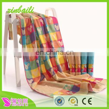 Wholesale Colorful Jacquard 100% Cotton Towel Set