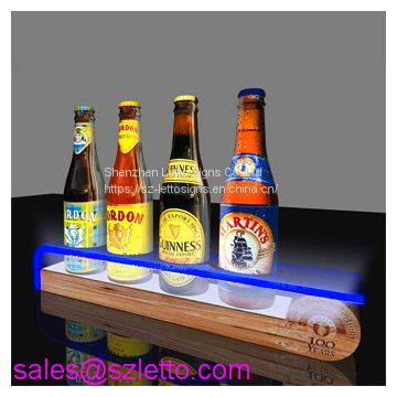 Hot Sell Bottle Holder Bar Acrylic Shelf For Wine