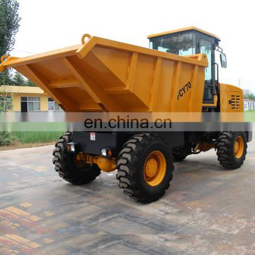 all Terrain vehicle diesel operated FCY70 Loading capacity 7 tons site dumper truck for export