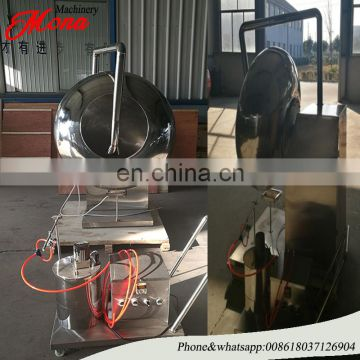 chocolate coating pan machine with cool air system