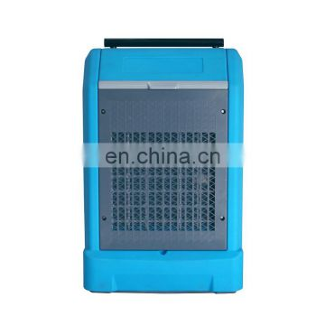 ETL Certified Commercial Industrial Grade Portable Dehumidifier Humidity Controller Blue