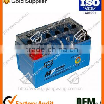 Factory Price Maintain Free YTX-BS for Motorcycle Battery
