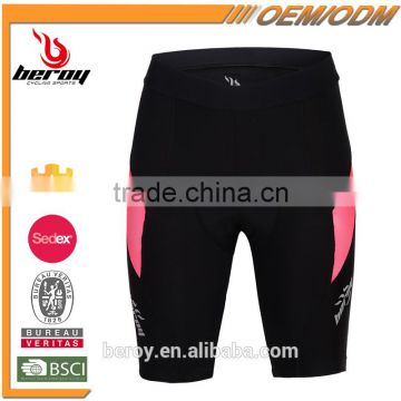 BEROY women high quality bicycle cycling riding shorts with gel pad
