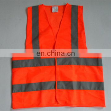 100%Polyester Cheap Hi Vis Strap Protective Safety Vest