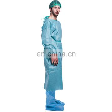 HQ standard SMS/SMMS disposable medical surgical gown sterile