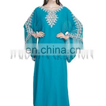 NEW 2017 ISLAMIC ARABIAN FANCY WEDDING GOWN PARTY WEAR