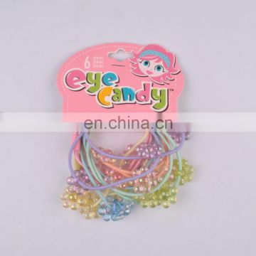 hot selling fashion shiny hair elastic band for girls