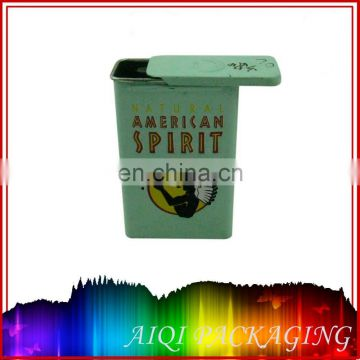 China OEM Exquisite customized printing Cigarette Pack Tin Box