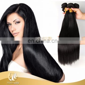 Soft and Silky Straight Hair, Grade 9A Cheap Brazilian Virgin Human Hair Extension