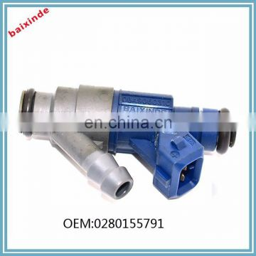 BAIXINDE FUEL INJECTOR NOZZLE 0280155791 for VW Bora Golf 2.0