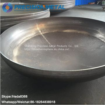 Weld On Pipe Fitting Stainless Steel Dome Steel Tubing End Cap