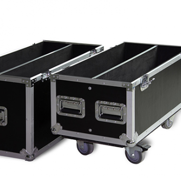 Recessed Road Ready Rack Mount Cases Flight Cabin Cases Stage Equipment Cases