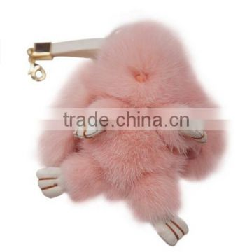 rabbit fur Baby Animal Nursery Doll Toys Home Decoration Pendant Hanging Ornements Christmas Gifts For Children