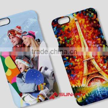 Newest 3D sublimation film phone cases for iphone 6/3D blank film cell phone cases for iphone 6/phone cases for iphone 6