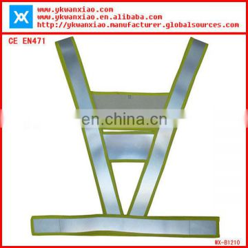 traffic signal reflective security safety vest
