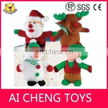 2015 Lovely plush christmas gift toy stuffed plush snow man toy