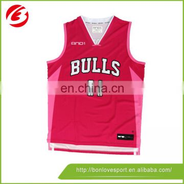 customize your own pink basketball jersey