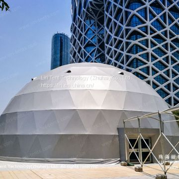 Liri Geo Dome on The Rooftop for Events