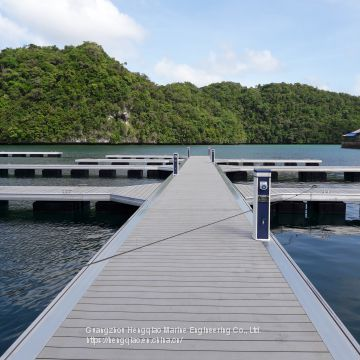 General Contracting for Design, Construction and Construction of Floating Aluminum Alloy Aquatic Buildings