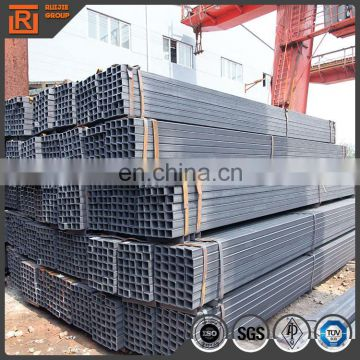 50x50 ms square tube weight, q235b black carbon shs pipe thickness 2.2mm