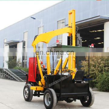 Tractor hydraulic piling machine with high quality parts