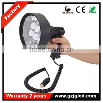 super bright 150mm handheld rechargeable spotlight