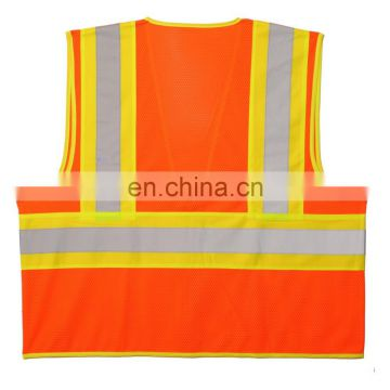 High Visibility Wholesale Mesh Safety Vest Reflective