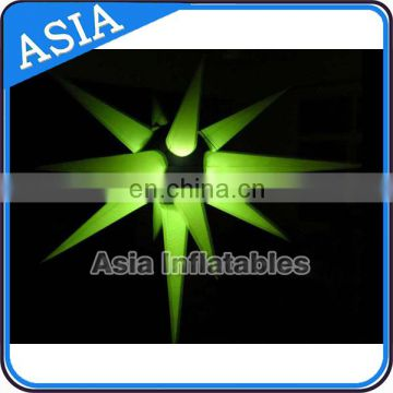 Free Custom New Style RC Multi-color Lighting LED Inflatable Lighting Star