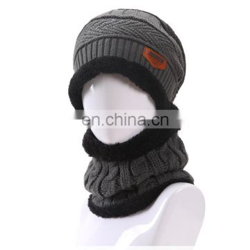b69cfddca5c5a Newest knitted winter beanie hat and scaf for men Warm Moto Sports Ski Wool Winter  Bonnet Caps Gorros of Hats%Caps from China Suppliers - 158250788