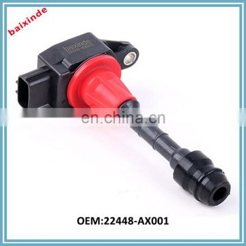 Baixinde Ignition Coil 22448-AX001 Fits NISSANs March Micra Note Cabrio MPV 1.0-1.4L 2003
