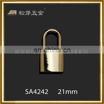 Fashion Metal Gold Color Padlock For Handbag bag hardware lock