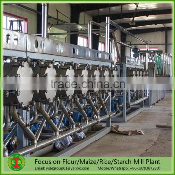 China supplier Turnkey project cassava processing plant