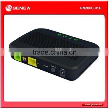 Genew GN2000-01G 1-Port GPON ONT Fiber Optic Equipment of
