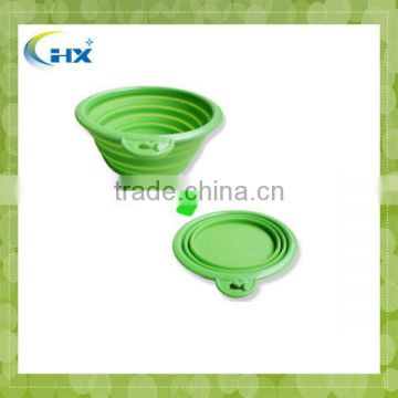 MA-389 2013 Eco-Friendly Silicone Collapsible Dog Bowl